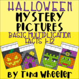 Halloween Mystery Pictures Basic Multiplication Facts 1-12 ~ Fact Fluency