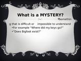 Halloween Mystery Story (Pre-writing visual aid)