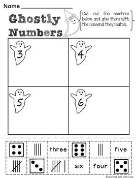Halloween NO PREP Math Printables