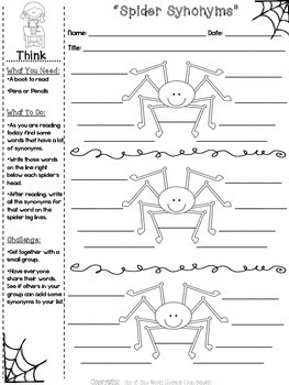 Halloween NO PREP Reading, Language, and Writing Printables {Grades 2-6}