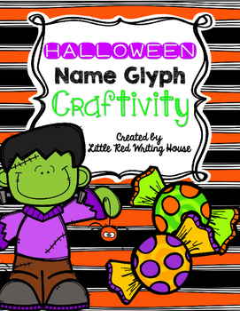 Halloween Name Glyph Craftivity