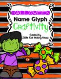 Halloween Name Glyph Craftivity