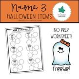 Halloween - Name THREE Freebie!!