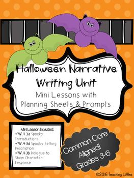 Halloween Narrative Mini Lesson Unit