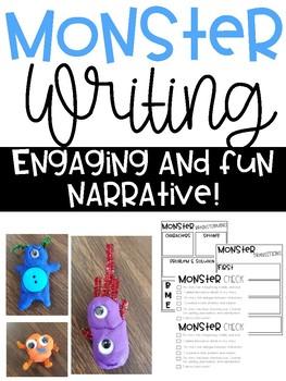Halloween Narrative Monster  Writing
