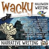 Halloween Narrative Writing
