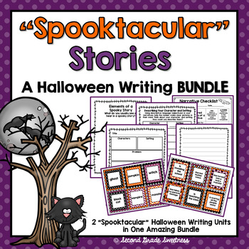 Halloween Narrative Writing BUNDLE