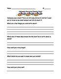 Halloween Narrative Writing Planning Sheet