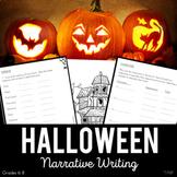 Halloween Narrative Writing | Printable AND Digital | Midd