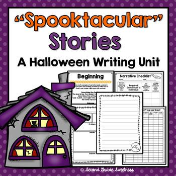 "Halloween Narrative Writing: ""Spooktacular Narratives"""