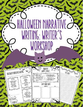 Halloween Narrative Writing: Writer's Workshop