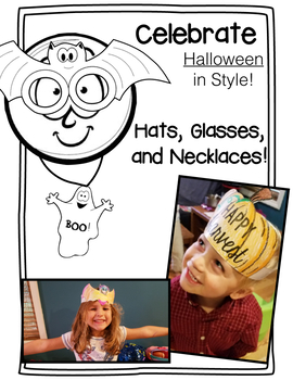 Halloween Necklace, Glasses, and Hat Sets