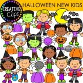 Halloween New Kids {Halloween Clipart}