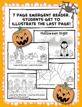 Halloween Night / Emergent Reader