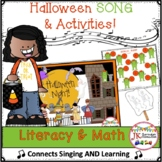 Halloween Song - Halloween Night -  Literacy & Math Pack