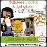 Halloween Song - Halloween Night -  Literacy & Math Pack