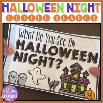 Halloween Night- Emergent Reader