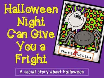 Social Stories for Autism: Halloween Night Can Give You a Fright