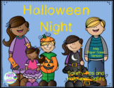 Halloween Night: Safety Tips/Halloween Sights A Color/Writ