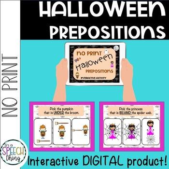 Halloween No Prep (& No Print!)