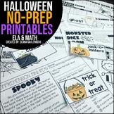 Halloween {No Prep Practice}