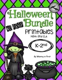Halloween No Prep Printables Bundle