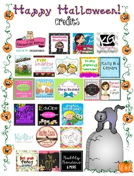Halloween No Prep Printables FREEBIE