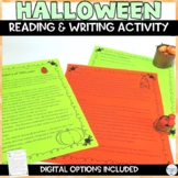 Halloween Reading Passage Activity