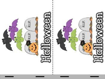 Halloween Nonfiction Emergent Reader and Categorization Activity