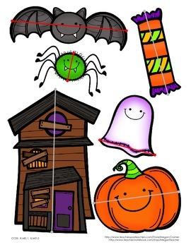 Halloween Nonstandard Measurement