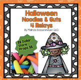 Halloween : Noodles and Guts Set - 4 Relays