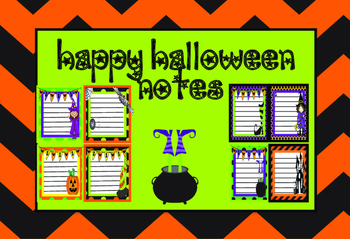 Halloween Note Pads