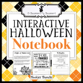 Halloween Notebook (Reading, Writing, Math Tasks & More!)