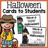 Halloween Notes to Students