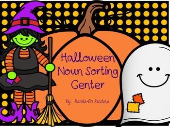 Halloween Noun Sort