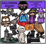 Halloween Nouns Clip Art Bundle {Educlips Clipart}