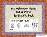 Halloween Nouns Flip Book
