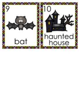 Halloween Nouns Write The Room Activity
