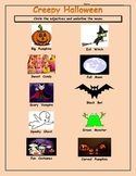 Halloween Nouns and Adjectives