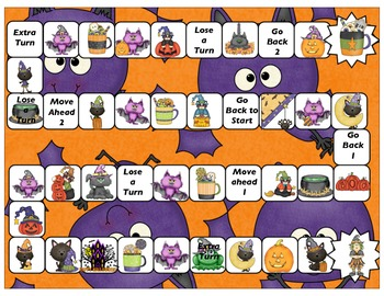 Halloween Nouns and Pronouns Games and Activity