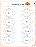 Halloween Nouns and Verbs
