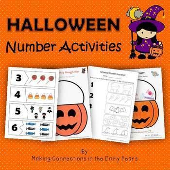 Halloween Number Activities
