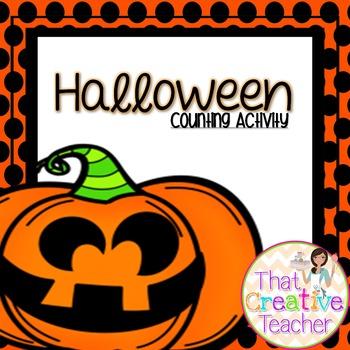Halloween Number Activity
