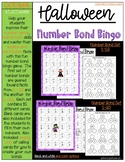 Halloween Number Bond Bingo