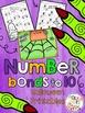 Halloween Number Bond Printables and Work Mat