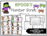 Halloween Number Bond Task Cards
