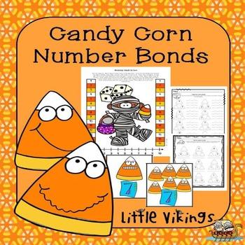 Halloween Number Bonds Activities