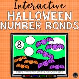 Halloween Number Bonds Interactive Activity