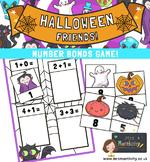 Halloween Number Bonds Within 10 Activity
