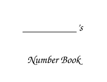 Halloween Number Book 1-5